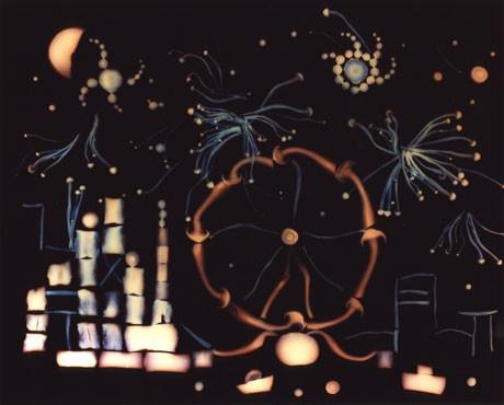 Fungi Luminogram 7 - New Year