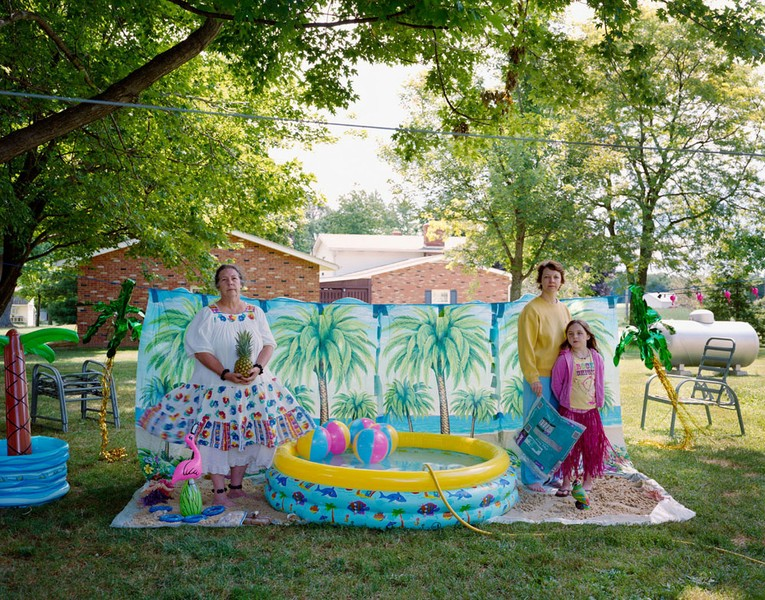 Luau themed party, Marshallville OH