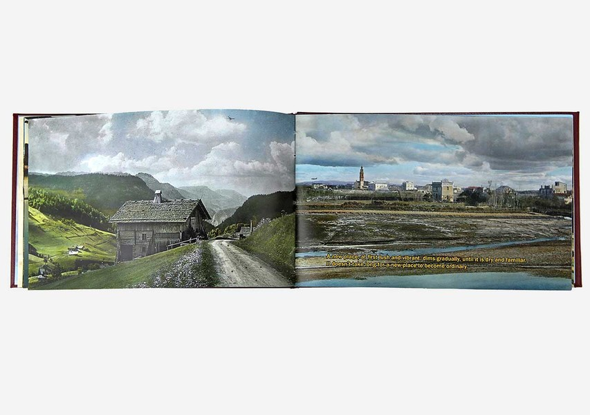 Cruising Altitude, photobook; HP Indigo; 2011