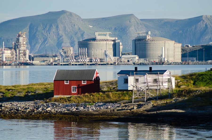 Liquified Natural Gas Terminal, Hammerfest, Norway