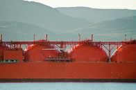 Liquified Natural Gas Tanker, Hammerfest, Norway