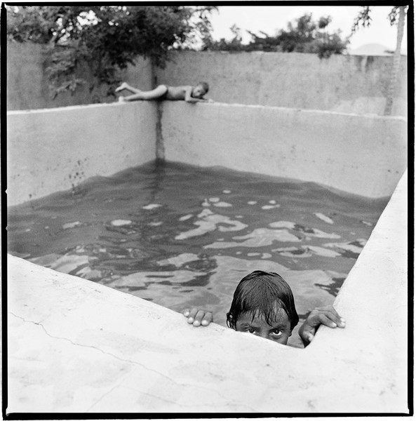 Pool Boys. La Chureca, Managua, Nicaragua.