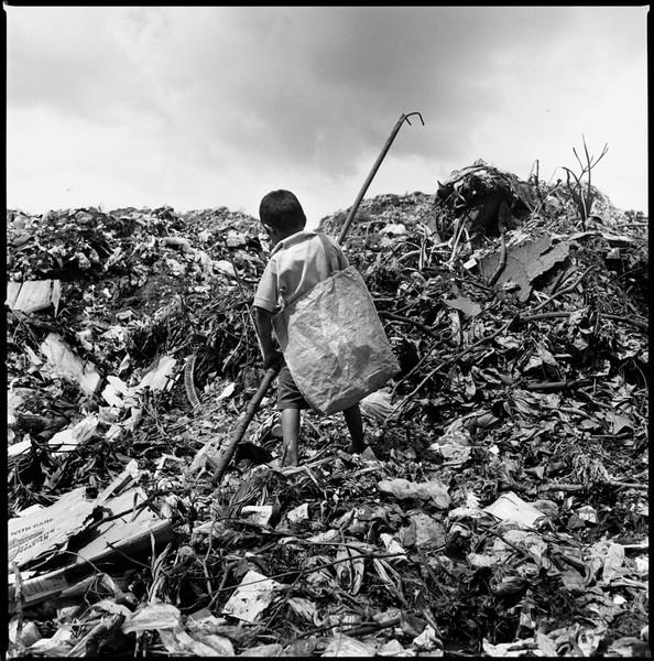 Walter (Recycling). La Chureca, Managua, Nicaragua