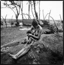 Olga (Breast-feeding). La Chureca, Managua, Nicara