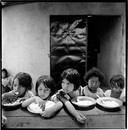 Girls (Lunch). La Chureca, Managua, Nicaragua