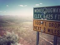 Mokee Dugway, UT