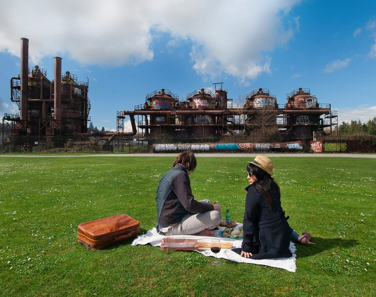 Picnic at Gasworks Park