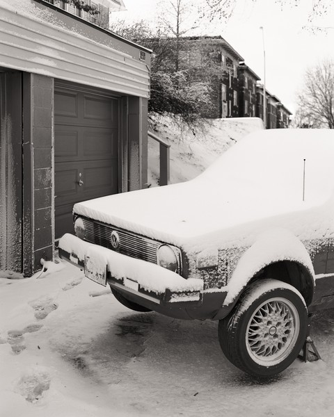 Car in snow