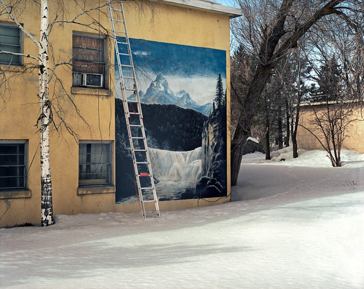 Claimed: Landscape, Ladder in Snow