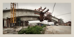 High Speed Rail, Zhongbe, Tianjin City, China PRC
