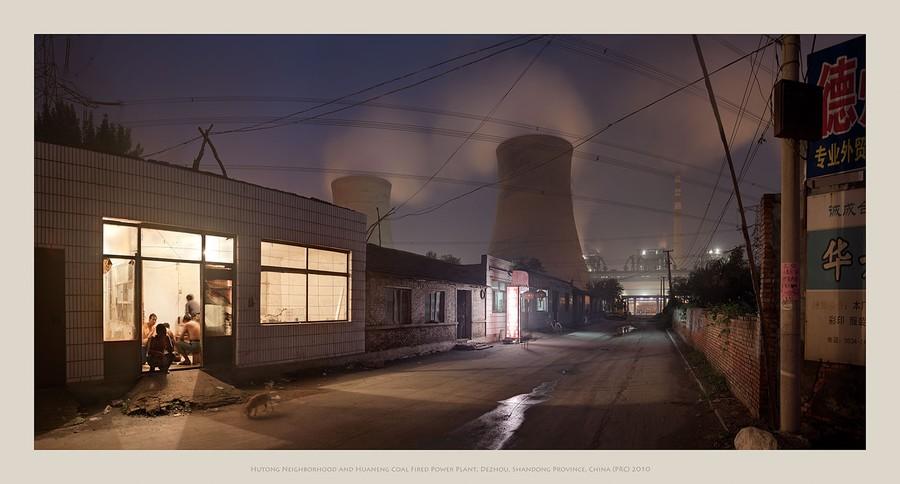 Coal Power Plant, Dezhou, Shandong Prv., China PRC