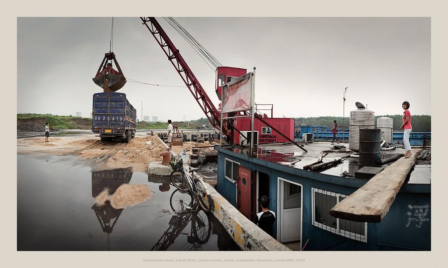 Yuejin Port, Jining, Shandong Province, China (PRC