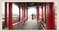 Young Men, Red Pavilion, Yangliuqing, Tianjin City