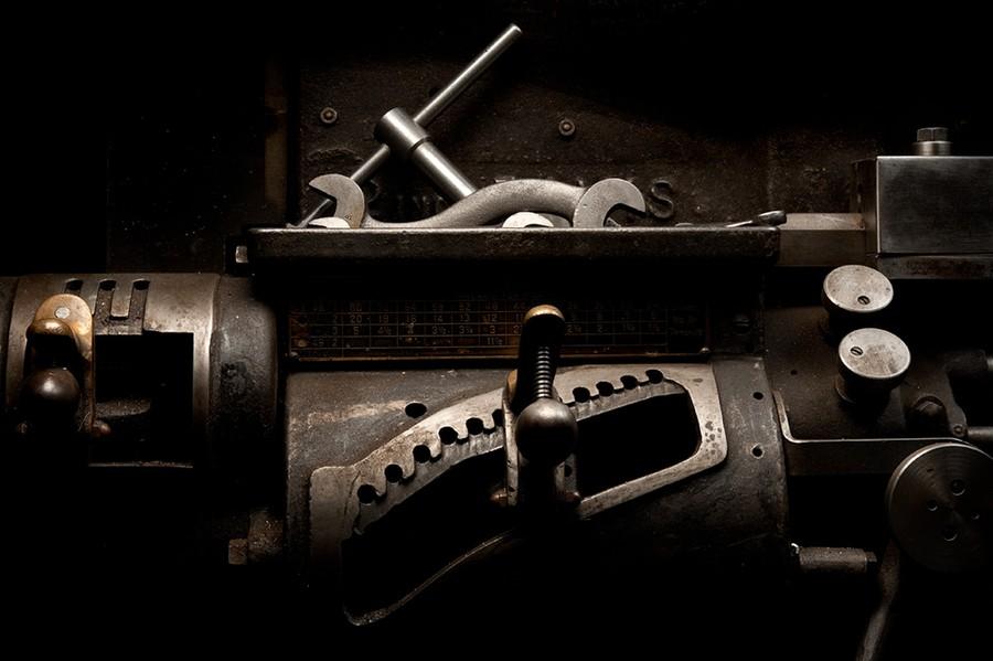 Headstock, Davis Engine Lathe