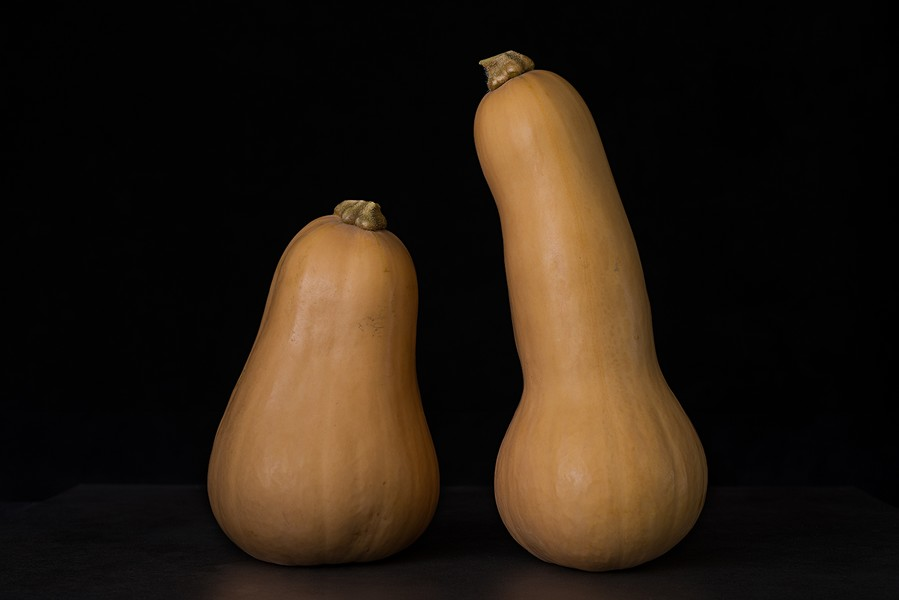 Two Butternut Squash