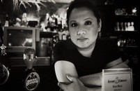 Imelda at the bar