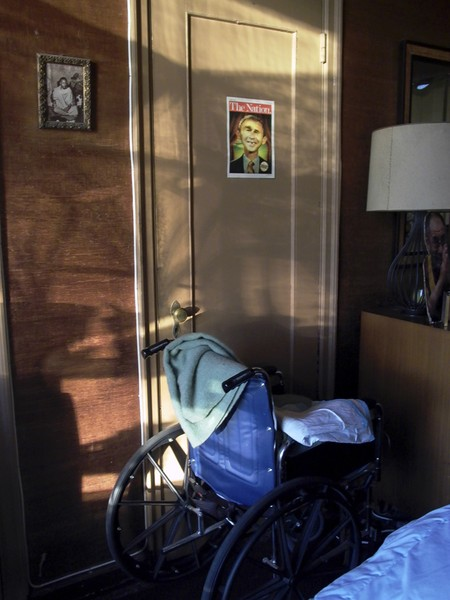 Wheelchair and Light