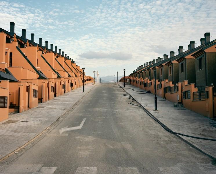 Calle Ojos Del Salado - unoccupied housing estate,