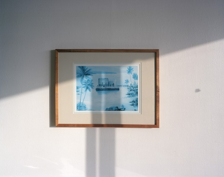 Ahu'ena Heiau Print, King Kamehameha Hotel