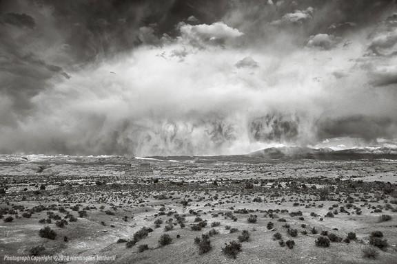 01470 • Thunderstorm, Southern Utah, 2010