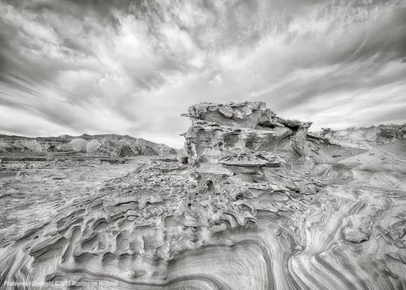 01710 • Sandstone Formation #1, Nevada, 2015