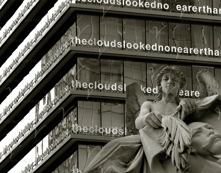 The angel from cloud # 9 ©