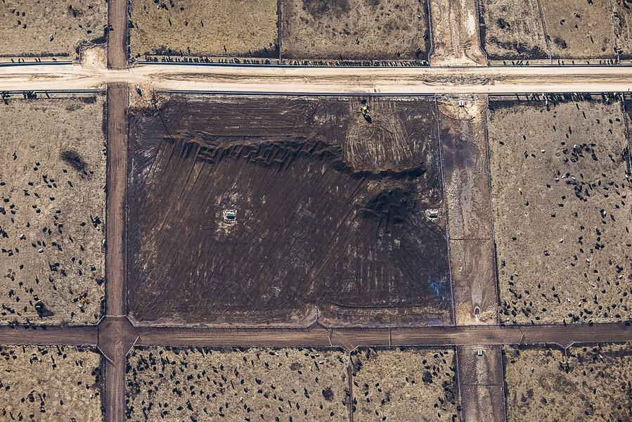 Scraping Mess, Yuma, CO, 2014