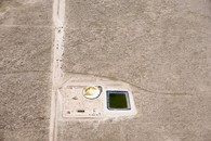 Prairie Tanks #2, Pawnee Buttes, CO, 2013.