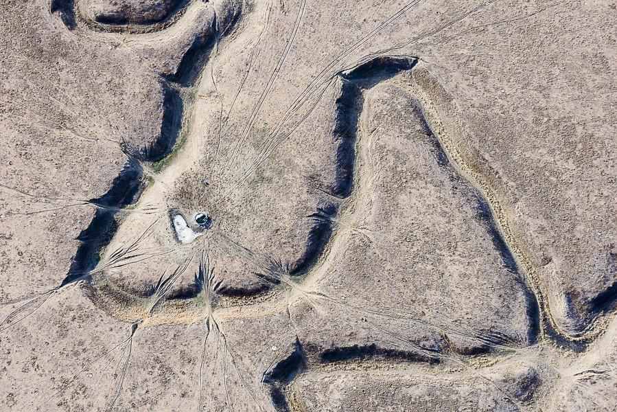 Barbed Meanders, Fort Morgan, CO, 2014