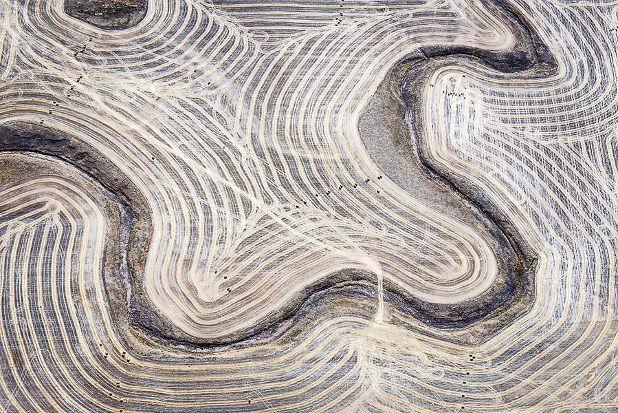 Textured Bench, Anton, CO, 2014