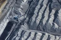Dragline Piles, Powder River Basin, WY, 2014