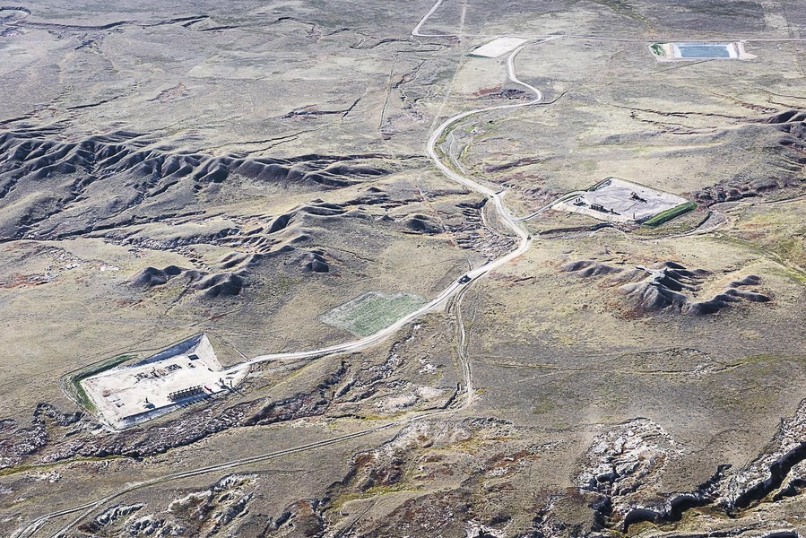 Winding Road, Pawnee Buttes, CO, 2014