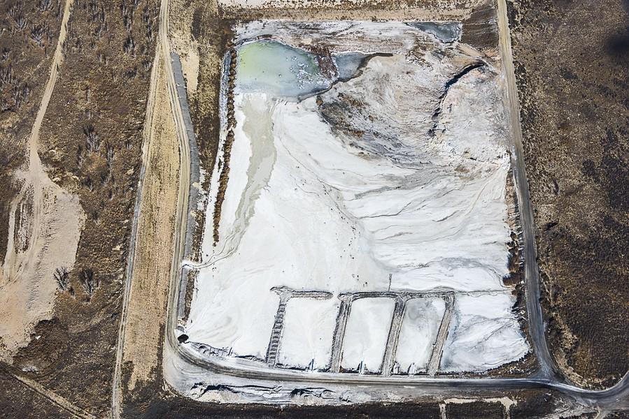 Power Plant Residue, Brush, CO, 2014