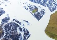 Flowing Milk, Pjorsa River, Iceland, 2012
