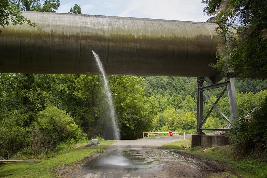 Apalachia, Downstream