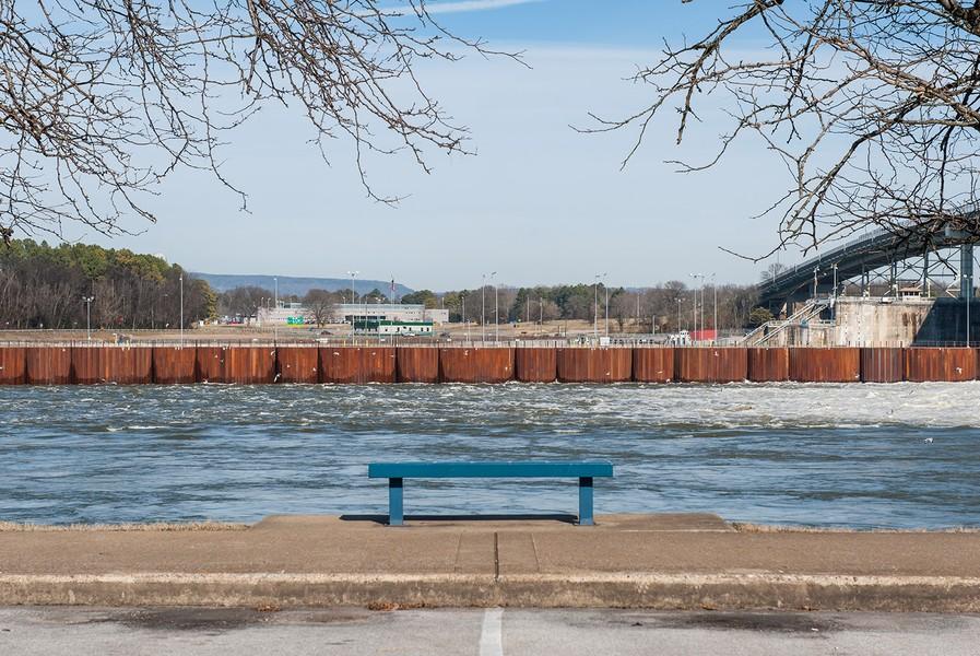 Chickamauga, Downstream