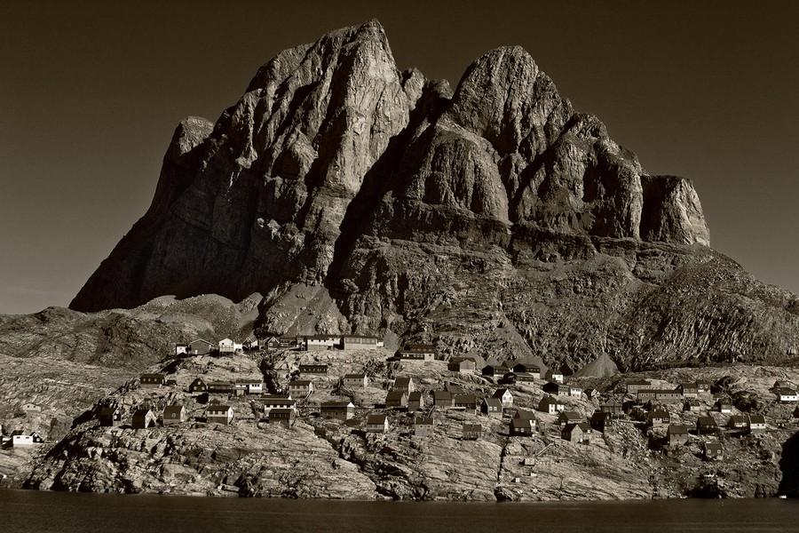 Village of Uummannaq, Greenland
