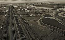 New Jersey Turnpike along the Chemical Coast, NJ