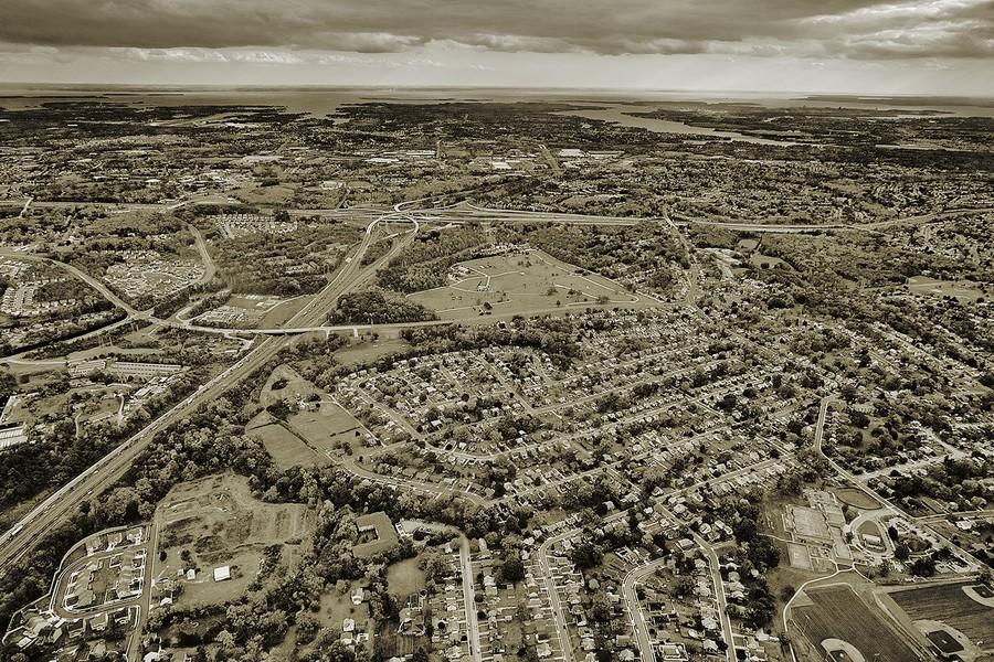 Overlea, Maryland, I-95 and Chesapeake Bay