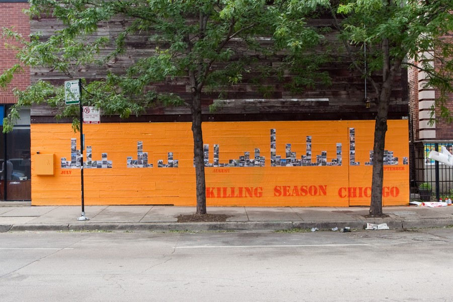 Killing Season Chicago Installation View