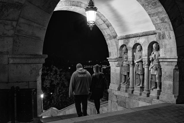 Heading Back Down (Budapest, 2016)