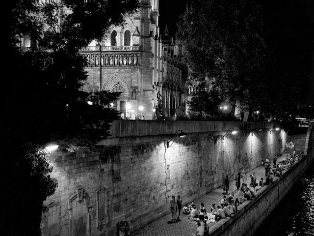 Quai et Notre Dame (Paris, 2015)