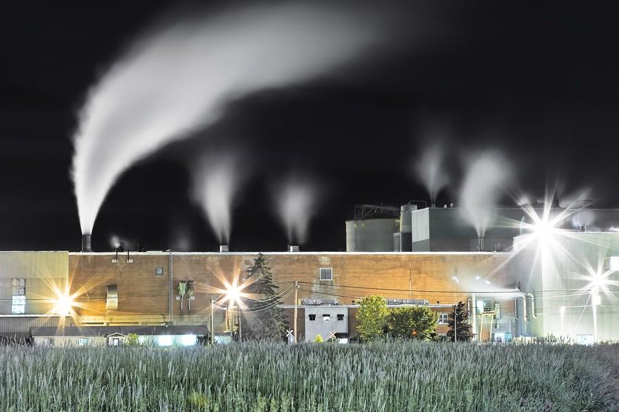 Paper Mill, Thurso, Quebec