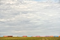 Train, Homewood, Manitoba