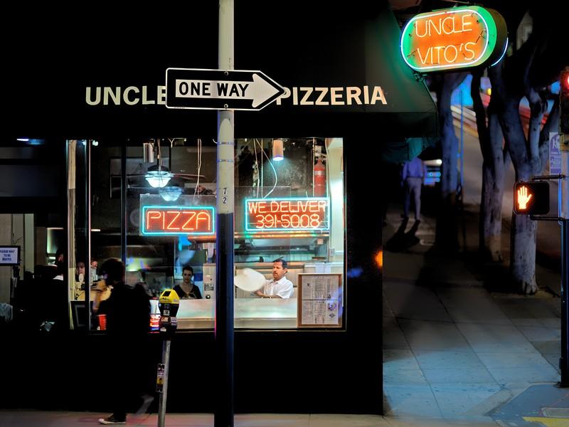 Uncle Vito's Pizzeria, San Francisco, California