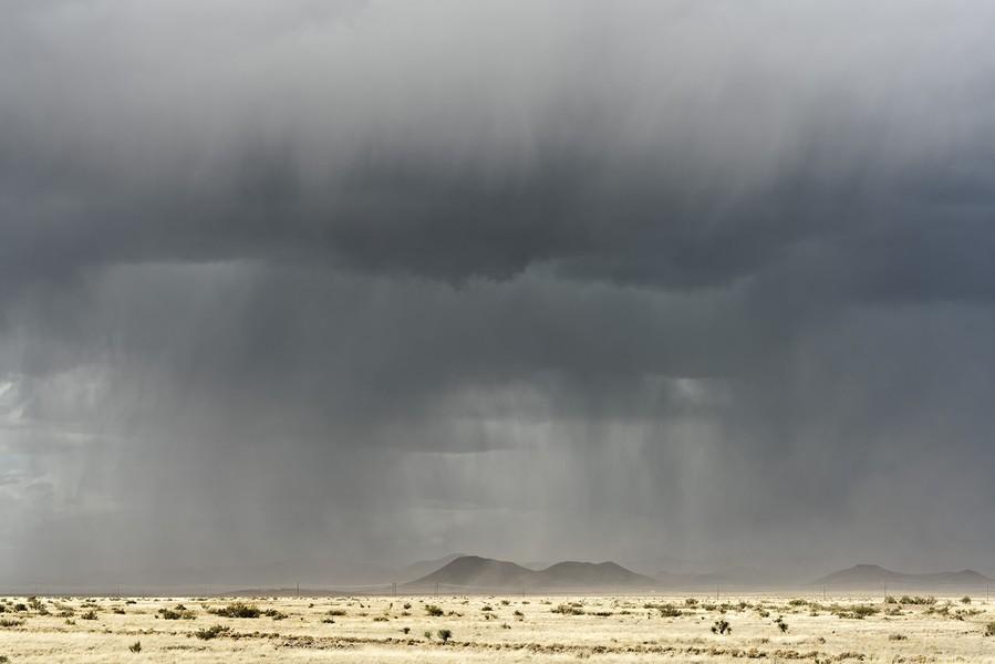 Storm, near Faywood, New Mexico