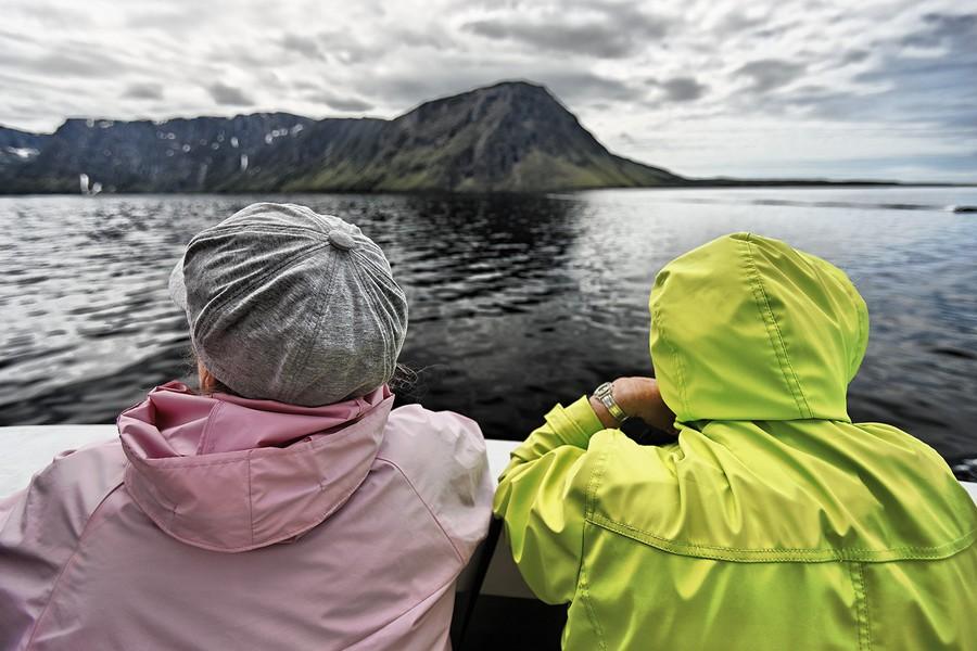 Tourists - Western Brook Pond, Newfoundland