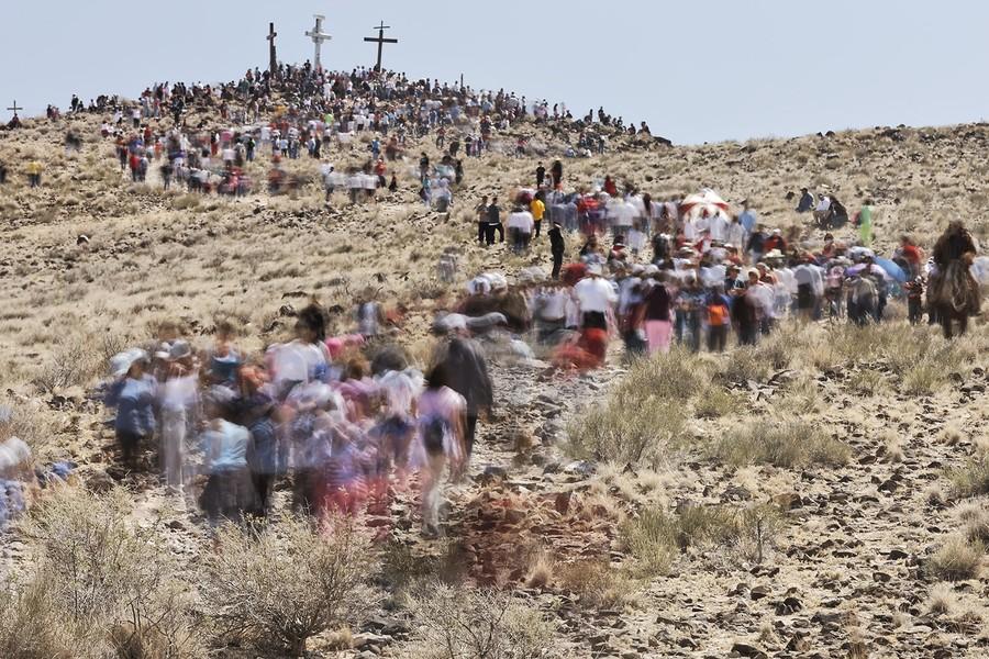 Easter Pilgrims - Los Lunas, New Mexico