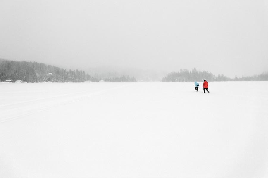 Two People, Ivry-sur-le-Lac, Quebec