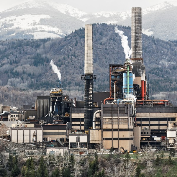 Smelter - Trail, British Columbia